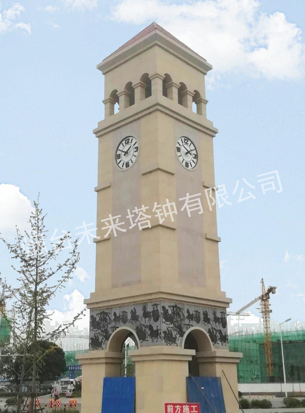 山东淄博淄川广场